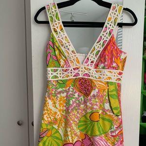 Trina Turk floral summer dress